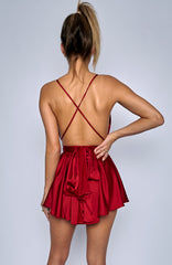 Unconditional Love Playsuit - Wine