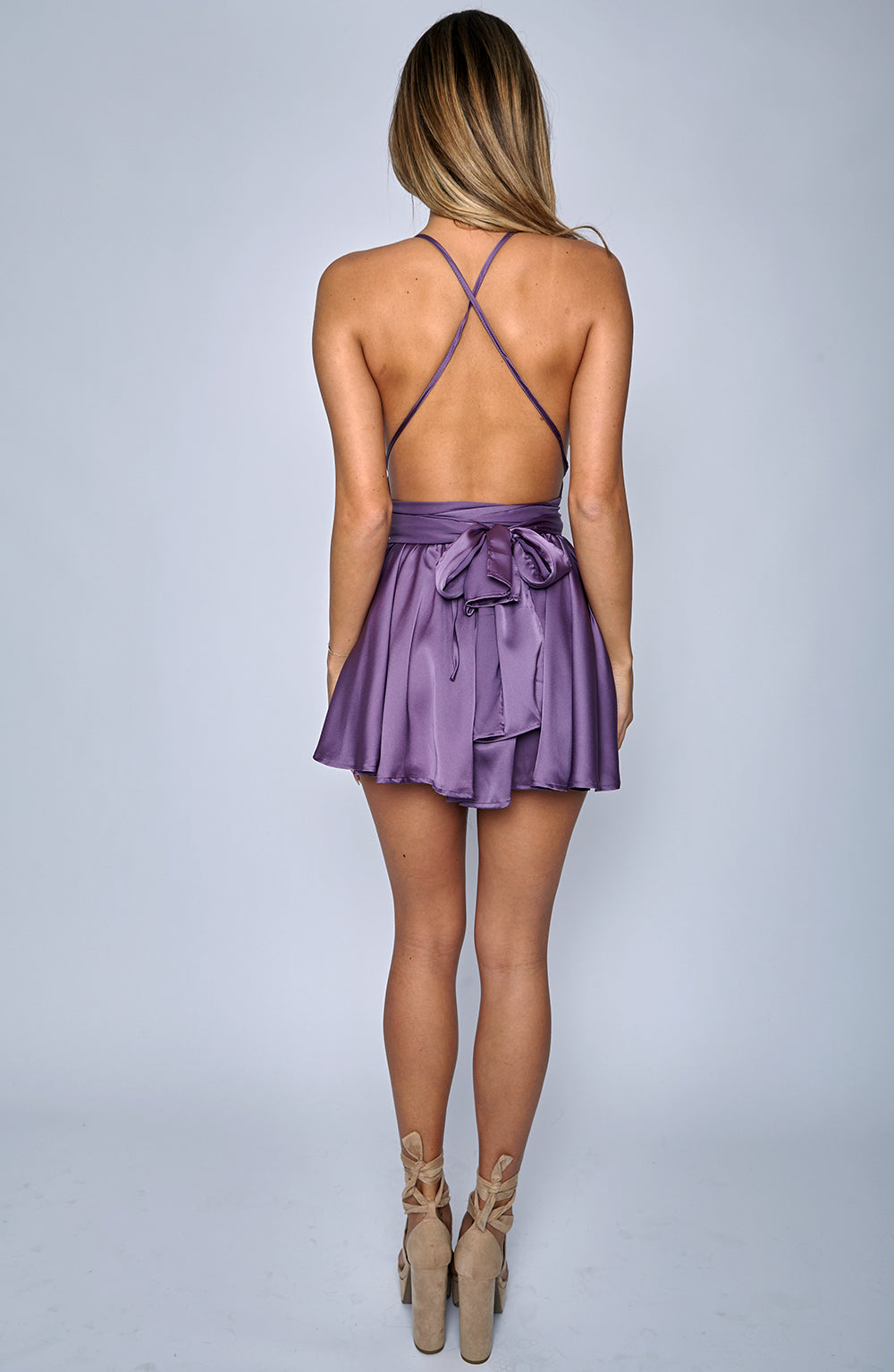 Unconditional Love Playsuit - Lilac