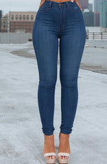 Cecelia Jeans - Medium Blue