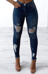 Davina Jeans - Dark Denim