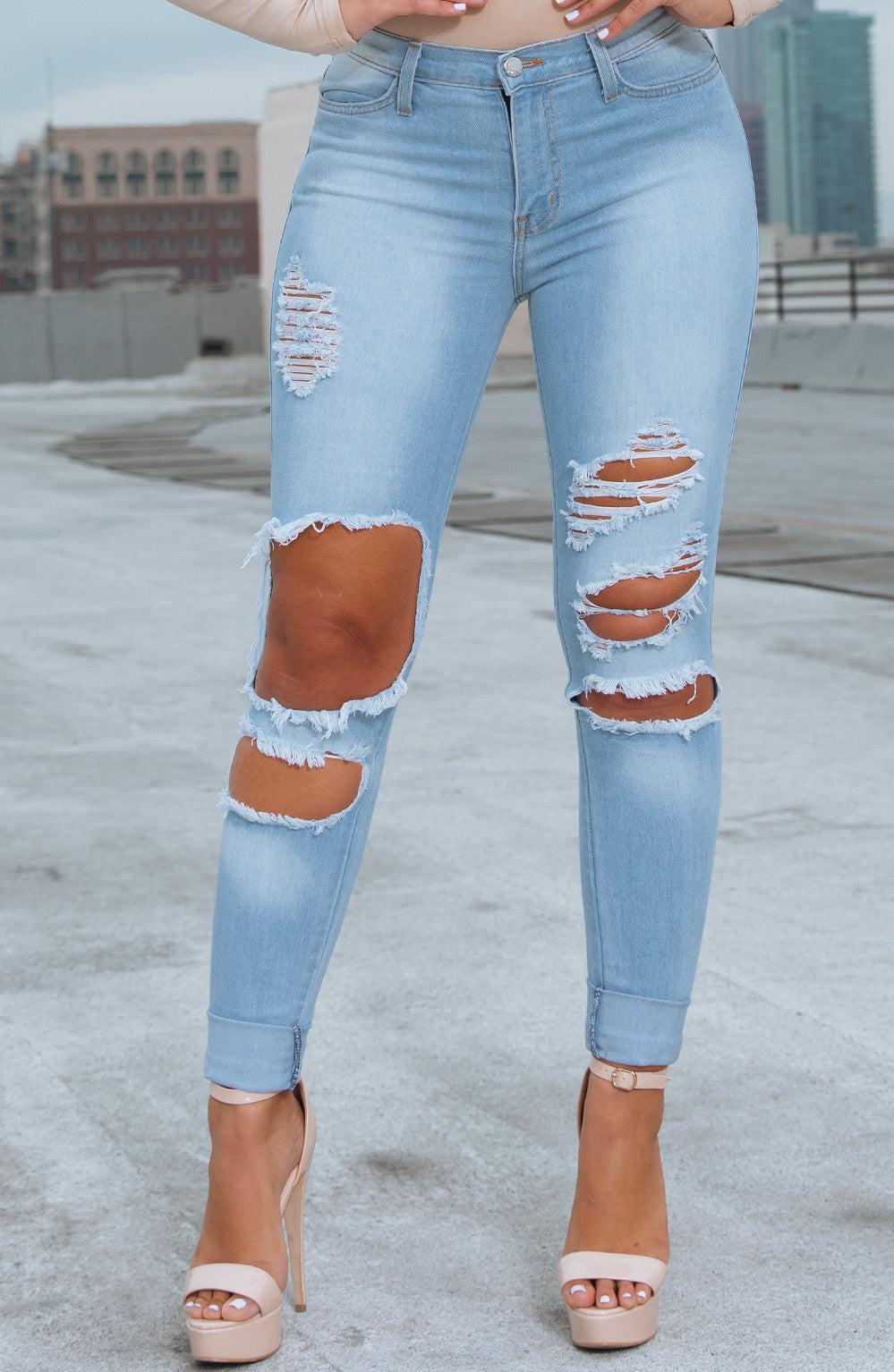 Amelia Jeans - Light Blue