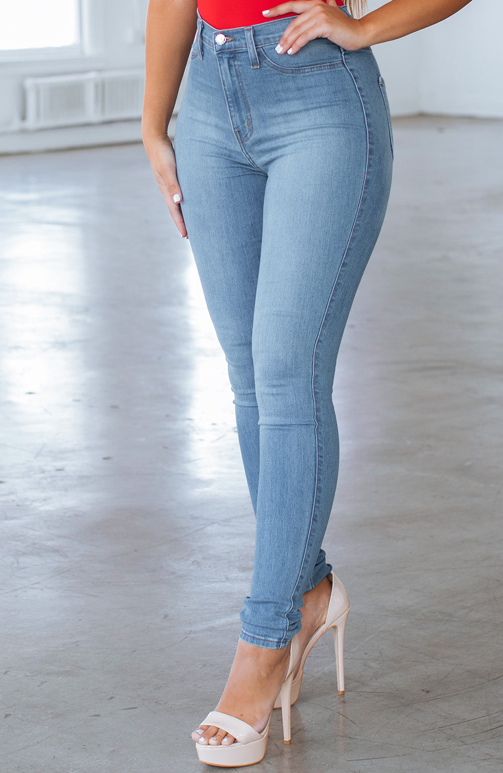 Kyla Jeans - Light Blue