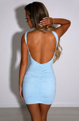 Diya Mini Dress - Baby Blue