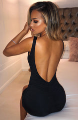 Diya Mini Dress - Black
