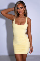 Diya Mini Dress - Lemon