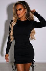 Essence Mini Dress - Black