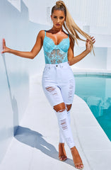 Shani Grimmond x Babyboo - Feelin it Jeans - White