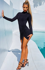 Gabriella Mini Dress - Black