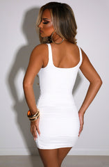 Gia Mini Dress - White