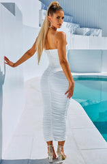 Haven Maxi Dress - White
