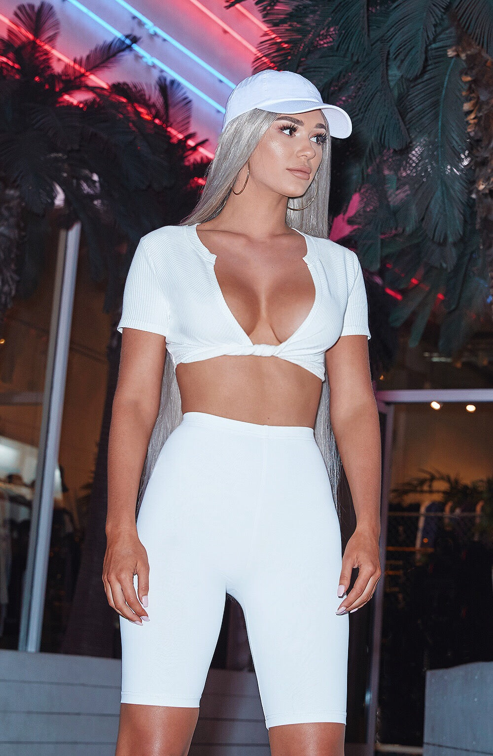 Shani Grimmond x Babyboo - Bindi Crop - White