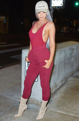 Shani Grimmond x Babyboo - Boss Tracksuit Pant - Burgundy