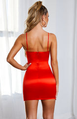Jasmine Mini Dress - Red