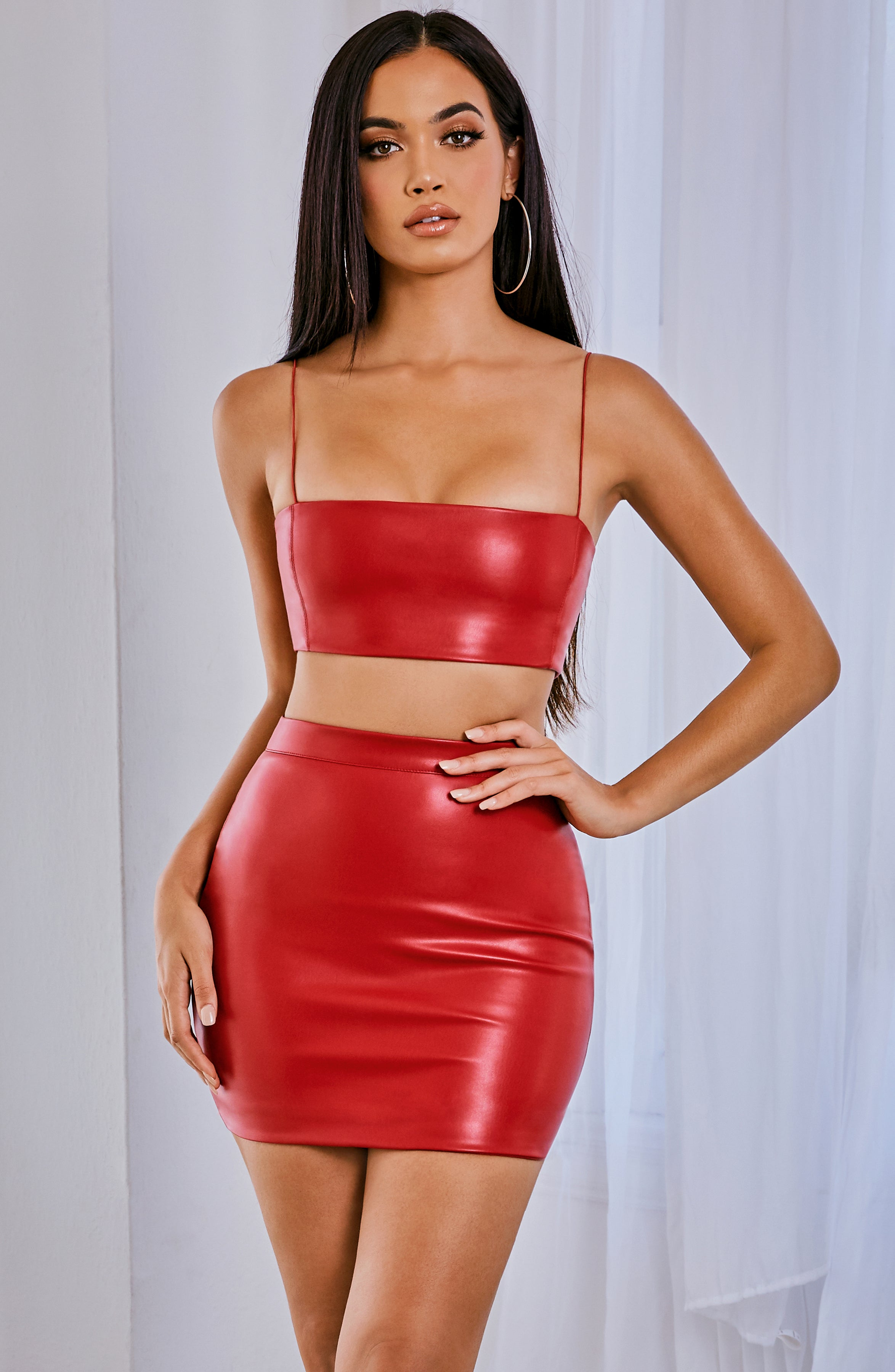 Kiki Crop - Red