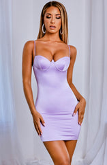 Kyra Mini Dress - Lilac