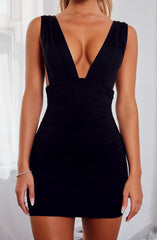 Kahra Mini Dress - Black