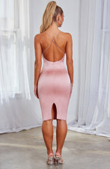 Katiana Midi Dress - Baby Pink