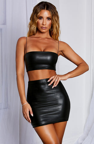 Kiki Crop - Black