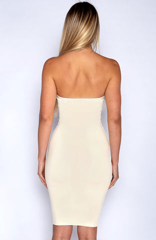 Zaria Dress - Nude