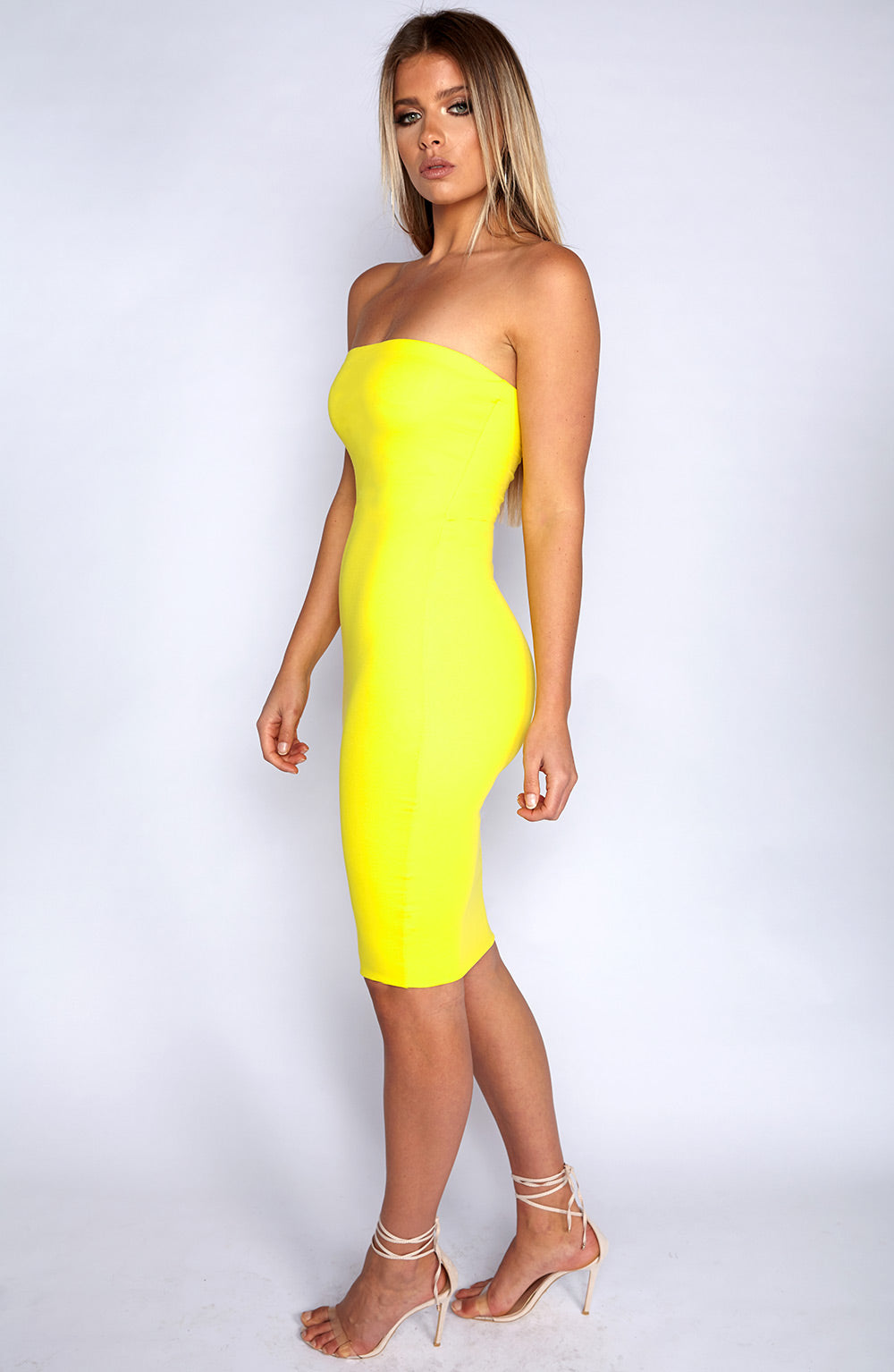 Zaria Dress - Yellow