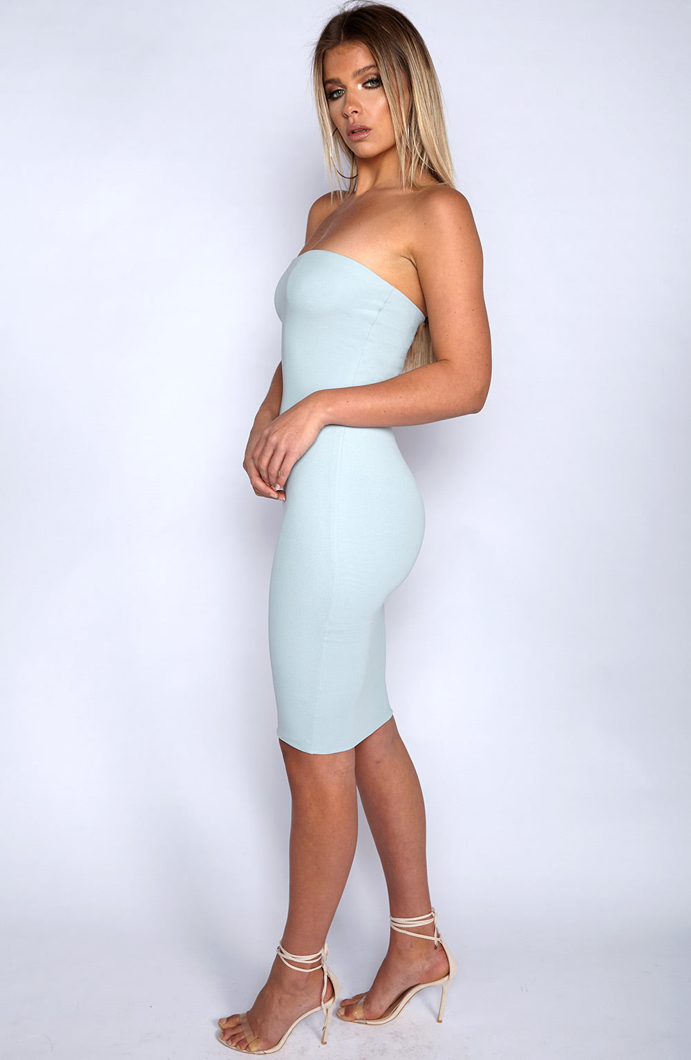Zaria Dress - Sky Blue
