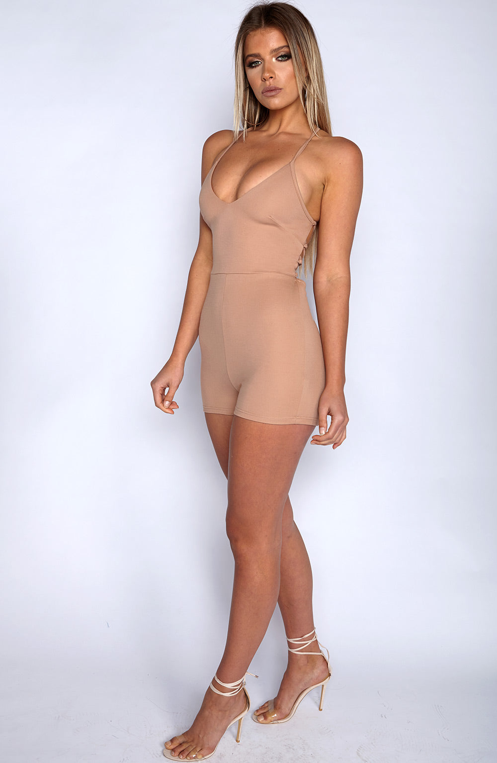 The Bae Playsuit - Mocha