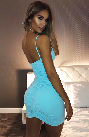 Essa Dress - Baby Blue