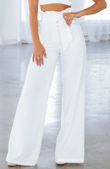 Monica Pants - White
