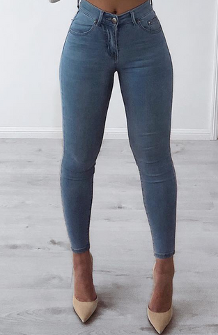 Mia Jeans - Blue Denim