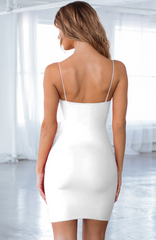 Aria Mini Dress - White