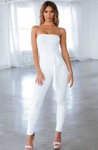 Kylia Jumpsuit - White