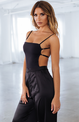 Camilla Bodysuit - Black