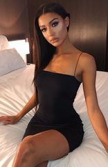 Mia Mini Dress - Black