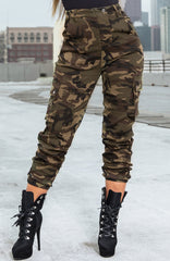 IGNITION CARGO PANTS - CAMO