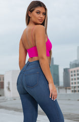 Ava Top - Hot Pink