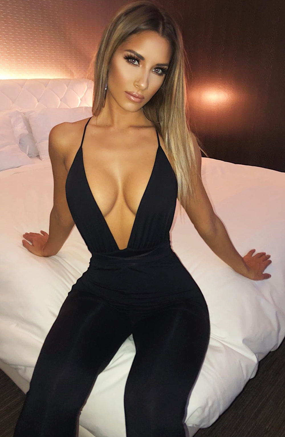 Madison Jumpsuit - Black