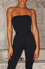 Kylia Jumpsuit - Black