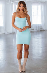 Aria Mini Dress - Baby Blue