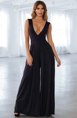 Skyla Jumpsuit - Black