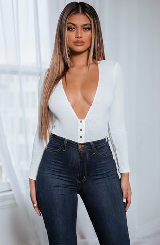 EVA BODYSUIT - WHITE