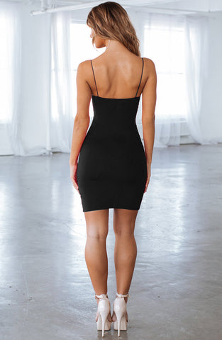 Aria Mini Dress - Black