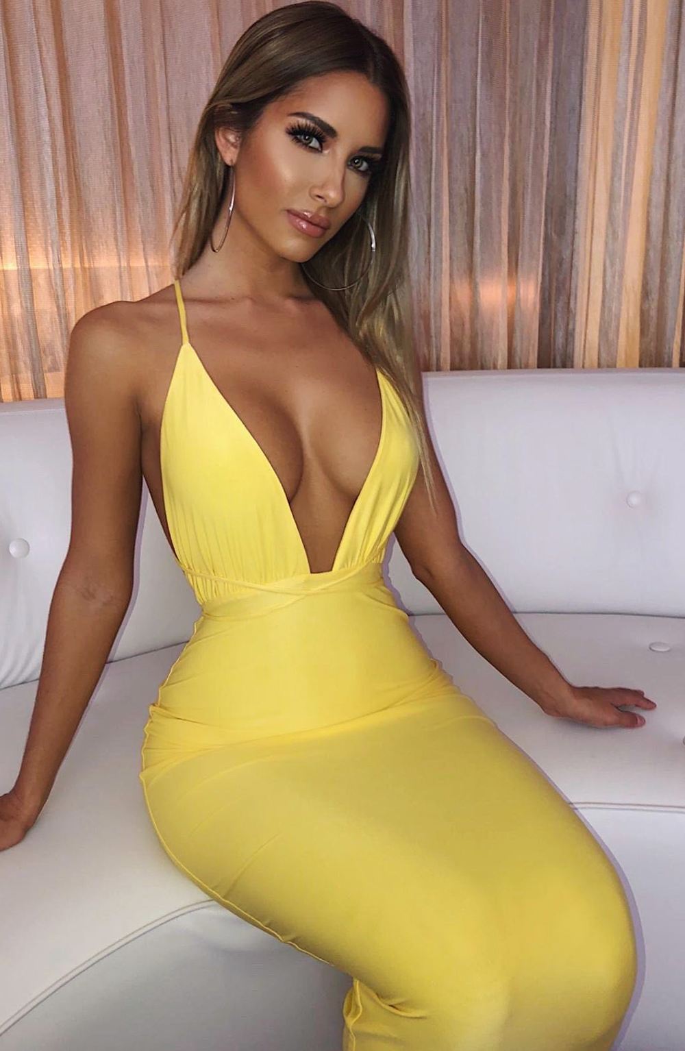 Julia Dress - Lemon