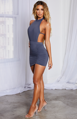 Allissa Dress - Charcoal