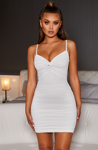 Savannah Mini Dress - White