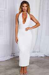Taryn Maxi Bandage Dress - White