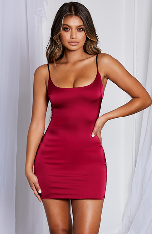 Veronika Mini Dress - Red