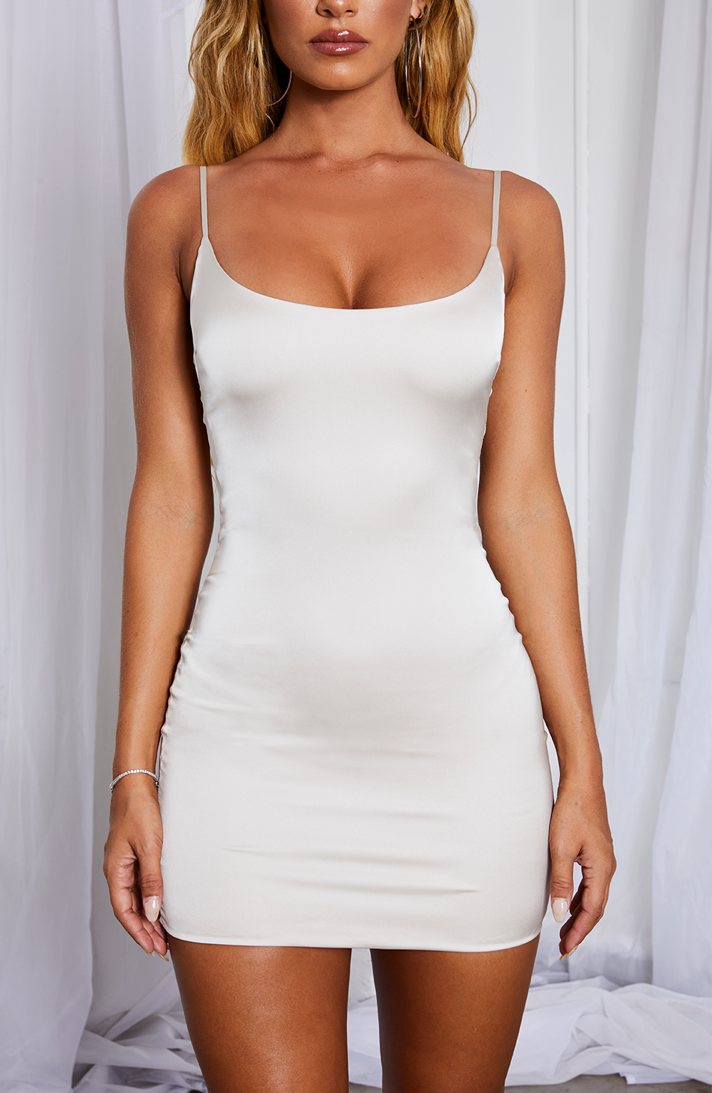 Veronika Mini Dress - Ivory