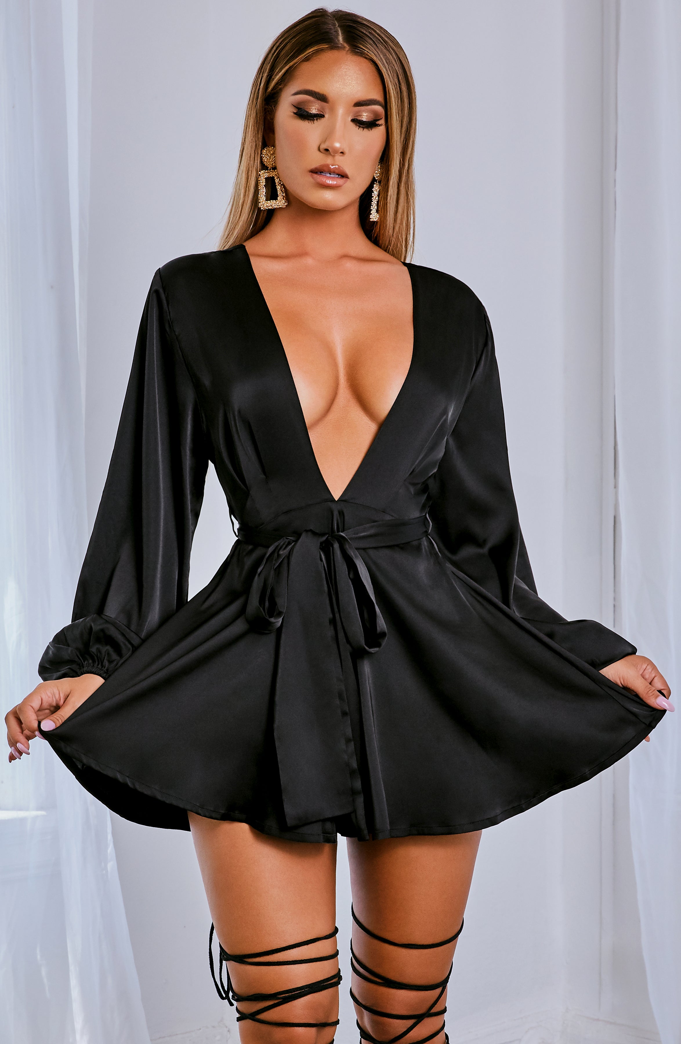 Luna Playsuit - Black