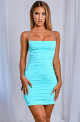 Lexa Mini Dress - Baby Blue