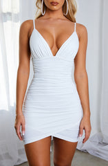 Lola Mini Dress - White